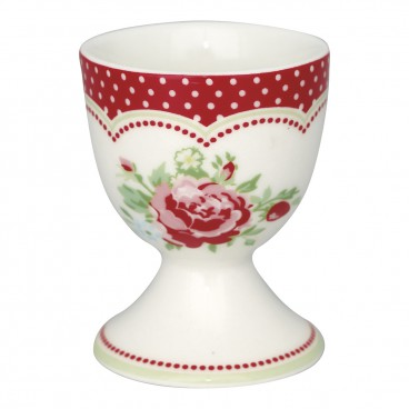 Egg cup Mary white