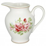 Creamer round Mary white