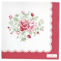 Serviette Mary white groß 20pcs
