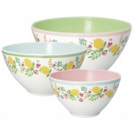 Salat Schüssel Limona white set of 3