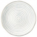 Dinner plate Sally pale blue