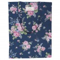 Bag cotton Rose dark blue