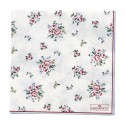 Serviette Nicoline white large 20pcs