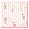Napkin Isa pale pink small 20pcs