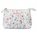 Cosmetic bag Vivianne white small