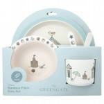 Kinder Geschirr Set 4-tlg. Ellison pale blue