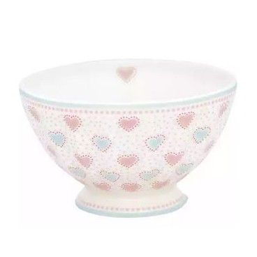 French bowl xlarge Constance white