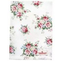 Tea towel Sari white