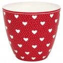 Latte Cup Penny Red