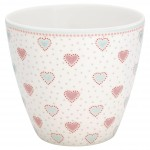 Latte Cup Penny White