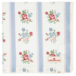 Napkin with lace Evie white