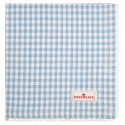 Napkin with lace Vivi pale blue