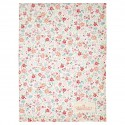 Tea towel Clementine white