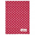 Tea towel Penny red