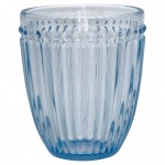 Wasserglas Alice pale blue