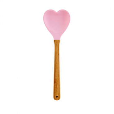 Silicone Spoon - Soft Pink