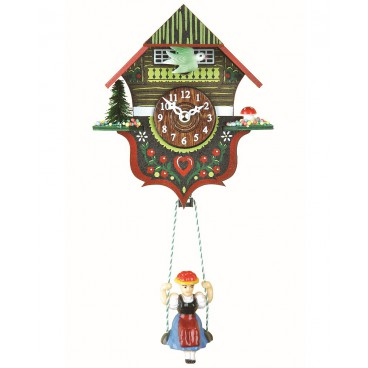 Kuckulino swinning doll clock