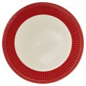 Plate - Alice red