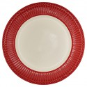 Dinnerplate - Alice red