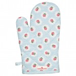 Cotton Grill glove Tammie pale blue