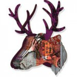 Trophy Deer - Purple Branch