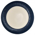 Plate Alice dark blue
