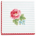 Serviette klein Lily white 20pcs