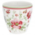 Mini latte cup Meadow white