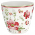 Latte cup Meadow white