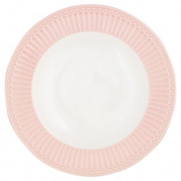 Suppenteller Alice pale pink