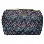 Wash bag Zindy dark grey small