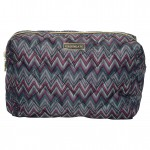Wash bag Zindy dark grey large