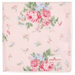 Napkin with lace Marley pale pink