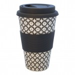 Travel mug Lara black